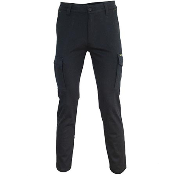 3365 - SlimFlex Cargo Pants - Black
