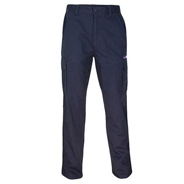 Navy - 3473 Inherent FR PPE2 Cargo Pants - DNC Workwear