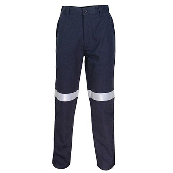 Navy - 3471 Inherent FR PPE2 Basic Taped Pants - DNC Workwear