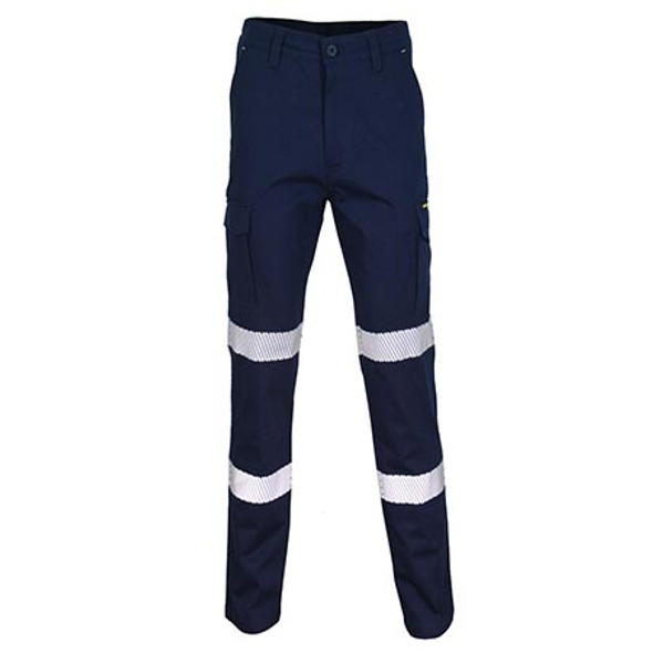 Navy - 3369 SlimFlex Bio-Motion Segment Taped Cargo Pants - DNC Workwear