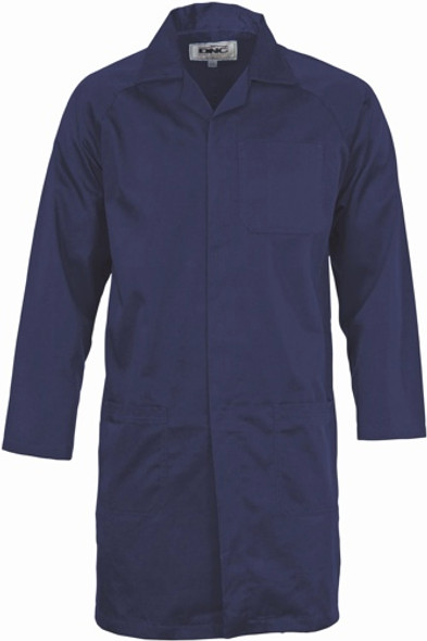 3502 - Polyester Cotton Dust Coat (Lab Coat)