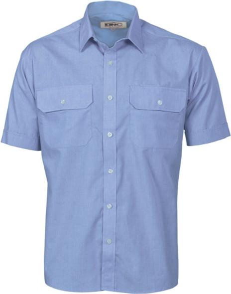 3211 - Polyester Cotton Work Shirt - Short Sleeve