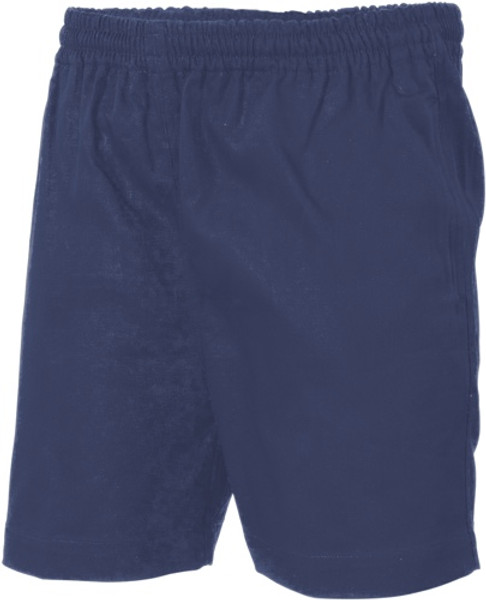 3305 - Drill Elastic Drawstring Shorts