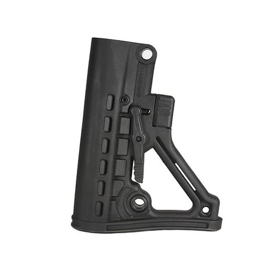 JE Machine Tech】AR-15 Featureless Fixed Buttstock Mil Spec