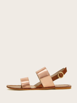 Double Strap Slingback Sandals A1696