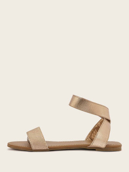 Open Toe Ankle Strap Sandals A1731