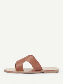 Cut Out Flat Slippers A2167