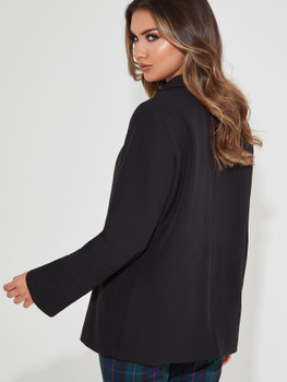 Double Breasted Button Blazer A14991