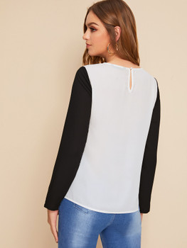 Cut And Sew Top A33491