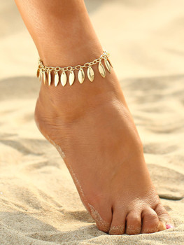 Festival Drop Charm Chain Anklet  A98
