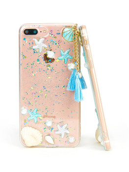 Starfish & Shell Pattern iPhone Case   	A441
