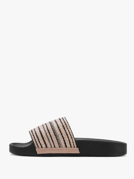 Criss Cross Woven Wedge Sandals  	A1537