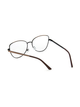 Metal Frame Clear Lens GlassesA269
