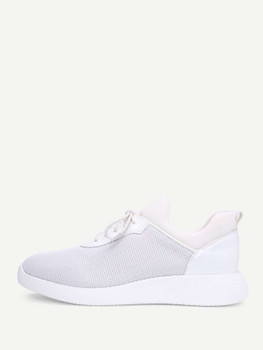 Net Surface Slip On Sneakers A195