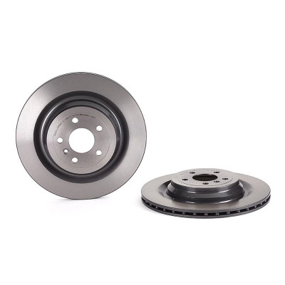 Brembo Xtra Rear Left or Right Brake Disc Rotor X-Drilled For MB W204 C207 A207