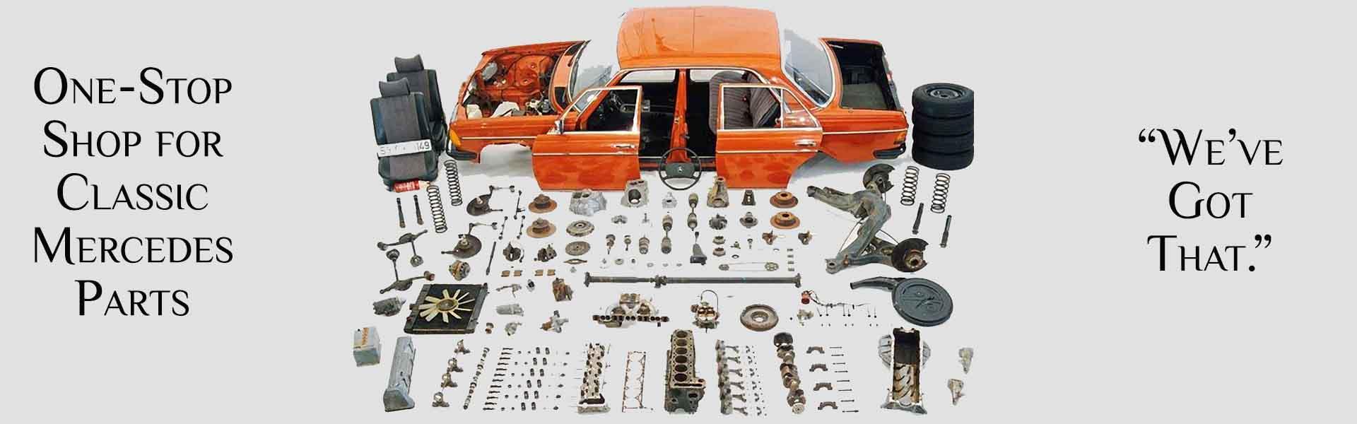 MBZ Parts: Classic Mercedes Parts Online Store