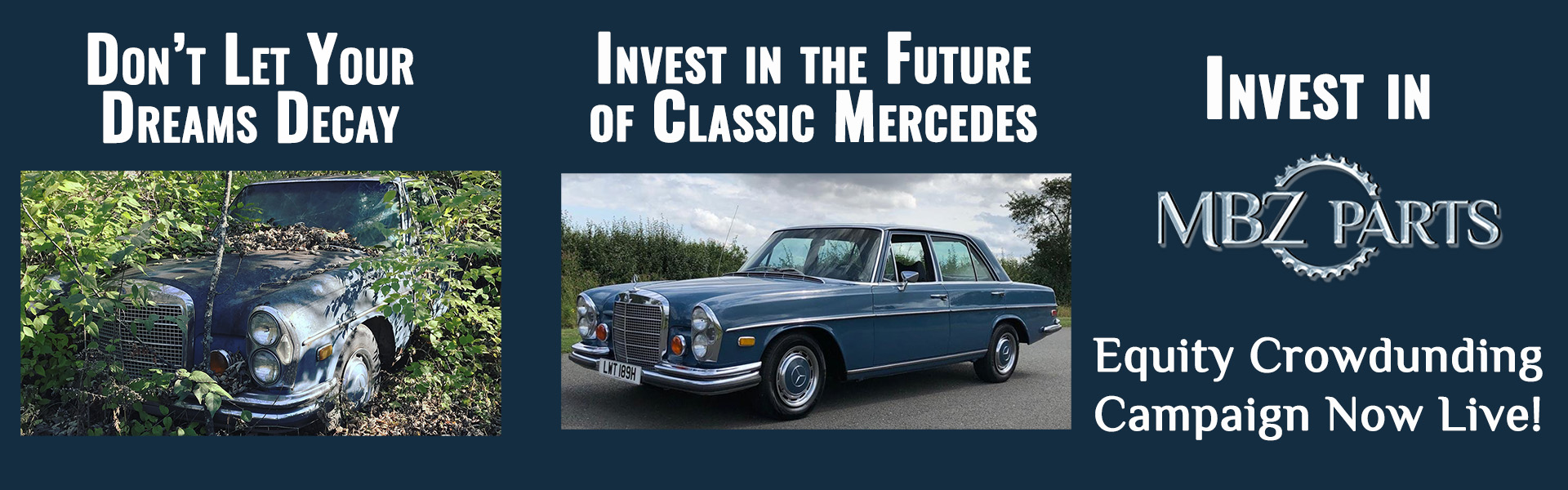 Invest in the Future of Classic Mercedes