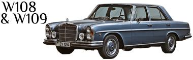 Classic Mercedes W108 Parts W109