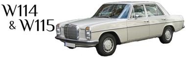 Classic Mercedes-Benz W114 W115 Parts