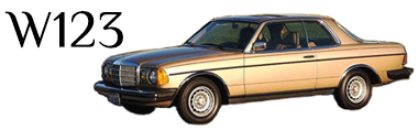 Classic Mercedes-Benz W123 Parts
