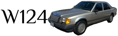 Classic Mercedes-Benz W124 Parts