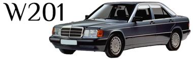 Classic Mercedes-Benz W201 Parts