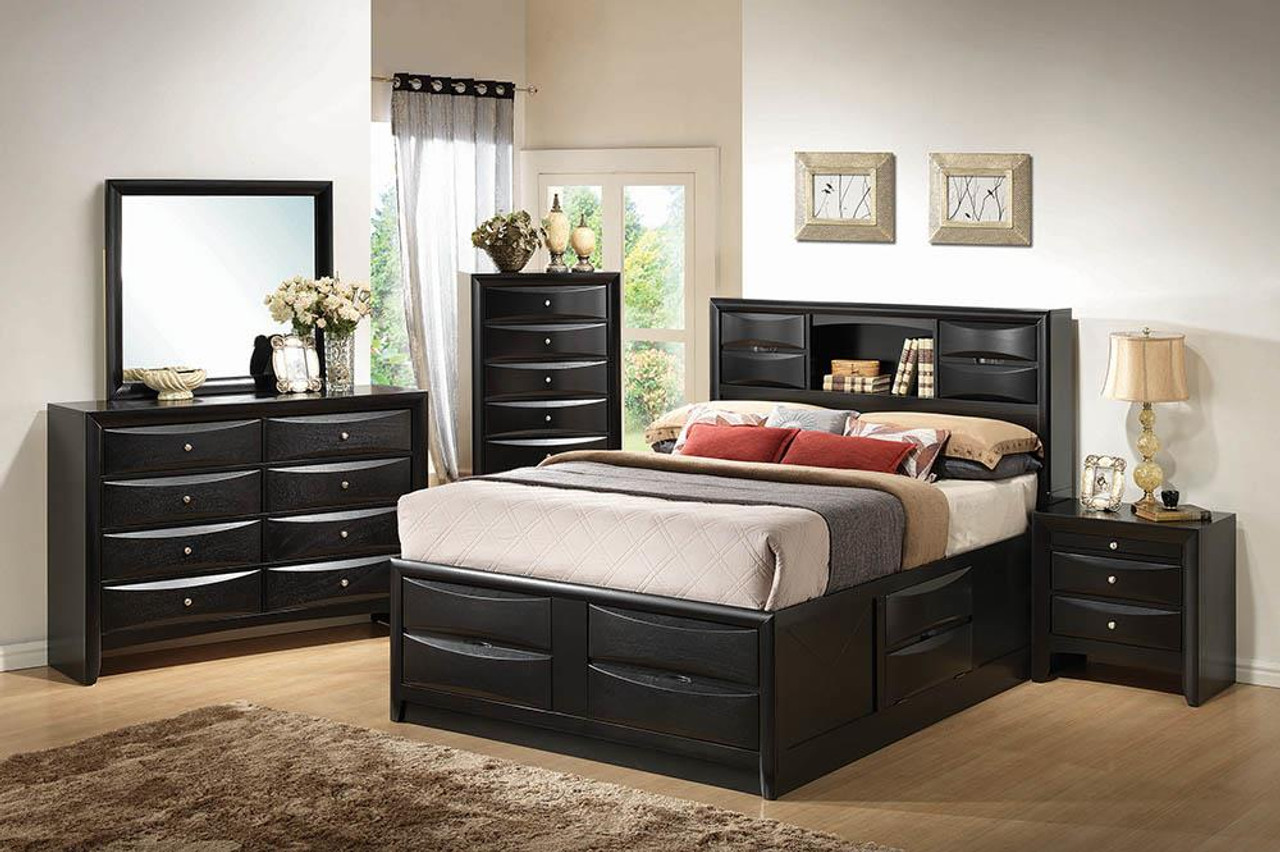 Coaster Briana Collection Briana California King Platform Storage Bed Black 202701kw On Sale At Spokane Furniture Company Serving Spokane Post Falls Coeur D Alene Wa Spokane Valley Post Falls And Coeur