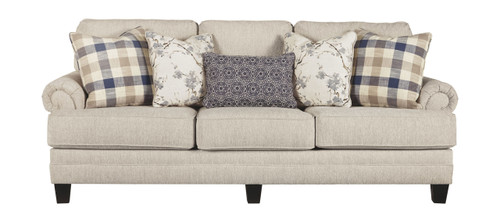 Ashley Meggett Linen Sofa