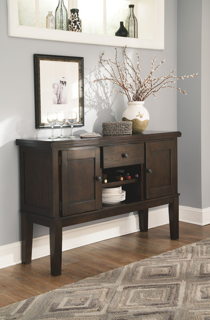 Ashley Haddigan Dark Brown Dining Room Server