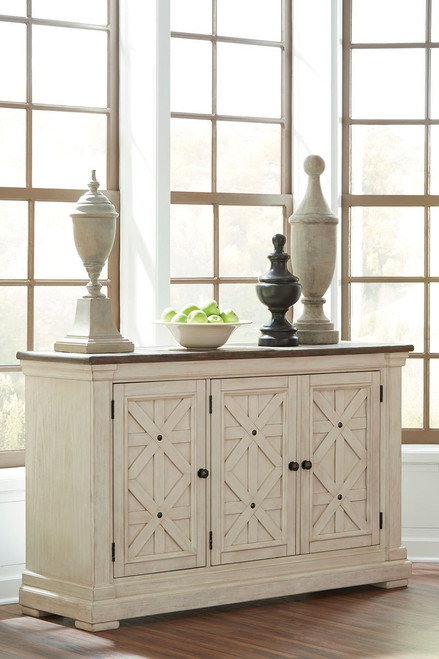 Ashley Bolanburg Two-tone Dining Room Server