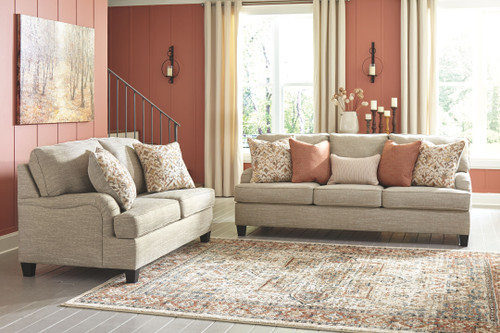 Ashley Almanza Wheat Sofa/Couch & Loveseat