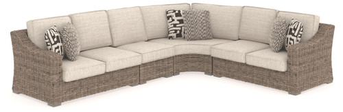 Ashley Beachcroft Beige 4 Pc.- Sectional Lounge