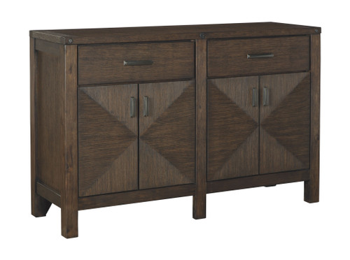 Ashley Dellbeck Brown Dining Room Server
