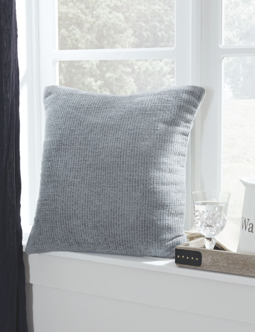 Ashley Larae Gray Pillow (4/CS)