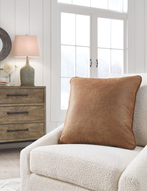 Ashley Cortnie Caramel Pillow (4/CS)