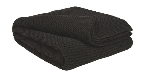 Ashley Eleta Black Throw (3/CS)
