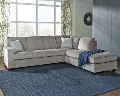 Ashley Altari Alloy 2-Piece Sectional with Chaise