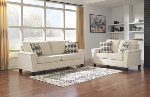 Ashley Abinger Natural Sofa/Couch & Loveseat