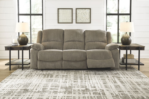 Ashley Draycoll Pewter Reclining Sofa/Couch