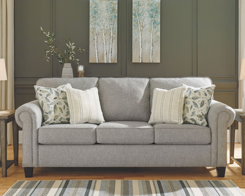 Ashley Alandari Gray Sofa/Couch