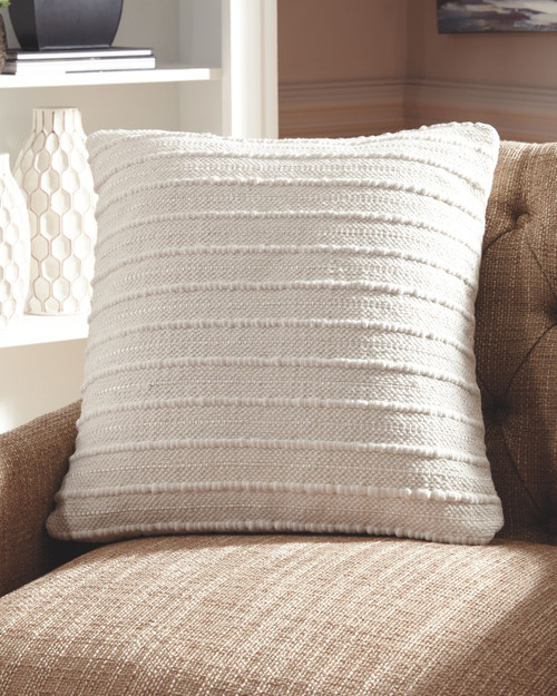Ashley Theban Cream Pillow(4/CS)