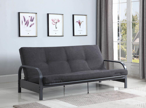 Coaster Futon Frame Dark Grey - 360008