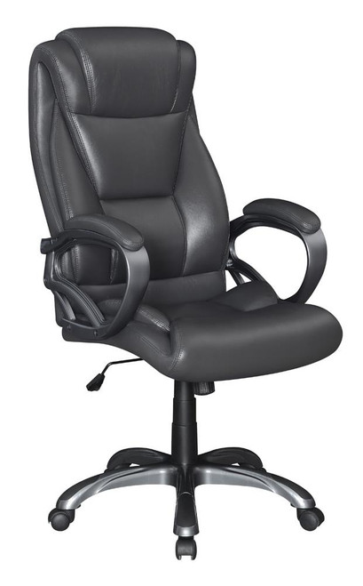 Coaster Grey - Upholstered High Back Office Chair Grey - 802178