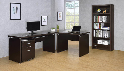 Coaster Skylar Collection - Skylar 3-drawer Mobile File Cabinet Cappuccino - 800894