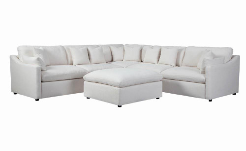 Coaster Off White - Hobson Cushion Back Armless Chair Off-white - 551451
