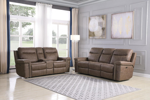 Coaster Wixom Motion Collection - Taupe - 2 Pc Set - 603517PP-S2