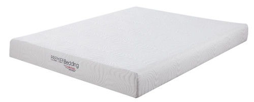 "Coaster Keegan 8"" Mattress - White - Keegan Queen Memory Foam Mattress White - 350063Q"