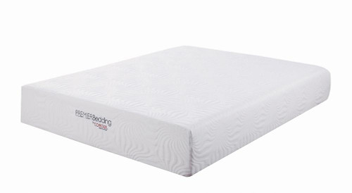 "Coaster Ian 12"" Mattress - White - Ian Queen Memory Foam Mattress White - 350065Q"