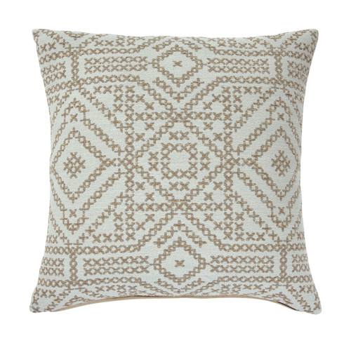 Ashley Jermaine Cream/Taupe Pillow (4/CS)