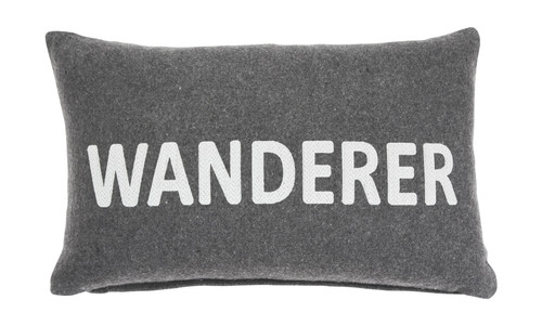 Ashley Wanderer Charcoal Pillow (4/CS)